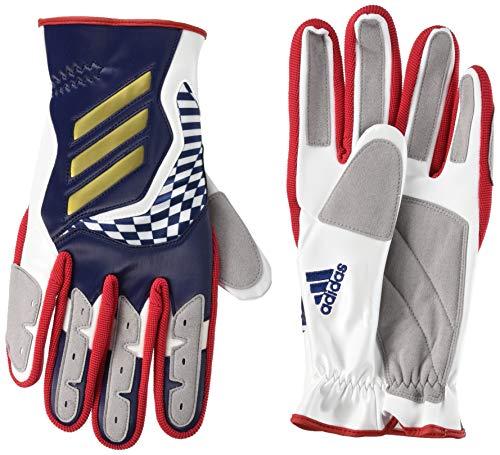 アディダス スライディング手袋 カレッジネイビー/ゴールドメタリック