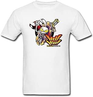 Men's Hellyeah Design Cotton T Shirt
