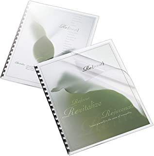 Office Depot Binding Cover, 8 1/2in. x 11in, Clear Gloss, Pack of 20, 25872