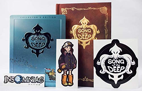 Song Of The Deep Collectors Edition For PC (With Steelbook & Special Edition Version Of The Book)