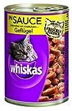 Whiskas Dose in Sauce Geflügel 400g