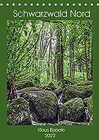 Schwarzwald Nord (Tischkalender 2022 DIN A5 hoch): Abwechslungsreiche Landschaften und Natur pur (Monatskalender, 14 Seiten )