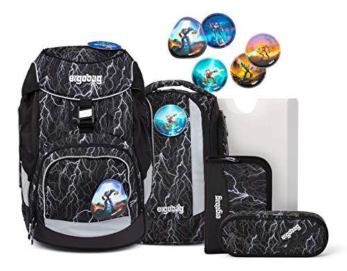 ergobag Pack zaino scolastico con accessorio set di 6pz. con set di Kletties