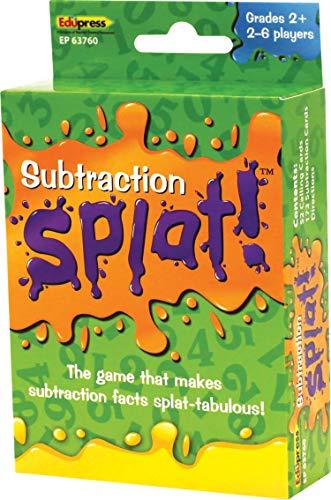 Edupress Math Splat Game: Subtraction (EP63760)