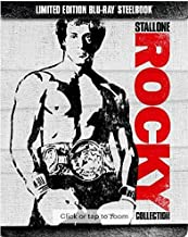 Rocky Collection: 6-Disc Set (Limited Edition Steelbook) [Blu-ray]