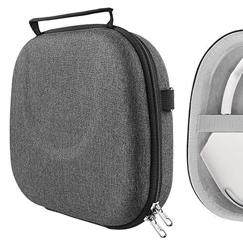 Geekria UltraShell Schutzhülle für AirPod Max Kopfhörer, Ersatz-Hartschalen-Reisetasche mit Platz für Smart Case und Zubehör (dunkelgrau)