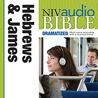 NIV Audio Bible, Dramatized: Hebrews and James cover art