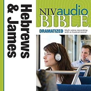 Dramatized Audio Bible - New International Version, NIV: (38) Hebrews and James audiobook cover art