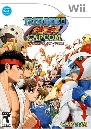 WII TATSUNOKO VS CAPCOM:ULTIMATE ALL STARS [Import américain]
