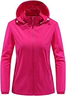 Packable Sun Protection Tops UPF 50+ Hooded Women's Outdoor Performance Workout Shirt