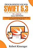 Programming iOS with Swift 5.3 For Beginners to Pro in 1 Hour (2021 Edition): A Crash Course on Developing iOS and Mac Apps Using Swift 5.3 and Xcode 12.3