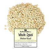 UEYR Semillas de Nigeria egusi, Semillas de melón Entero, Planta Egusi Polvo para Sopa Egusi, Nigeria, condimentos, Comida Africana