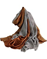 DEBAIJIA Women Silk Scarf Lightweight Shawls Stylish Wraps Neckerchief Smooth High Quality Fashion Elegant Scarves Sunscreen Outdoor Walking Beach Office Lovely Colors 71 * 35 in