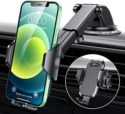 [Upgrade]VANMASS Universal Car Phone Mount Fingerprint...