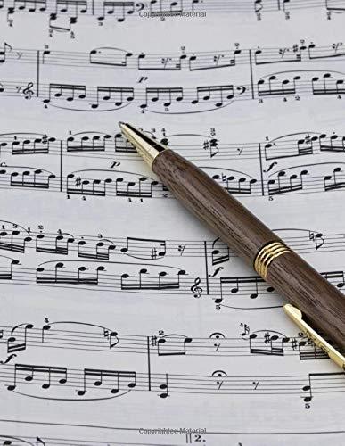Blank Sheet Music: Music manuscript paper journal, 8,5 x 11, 120 pages