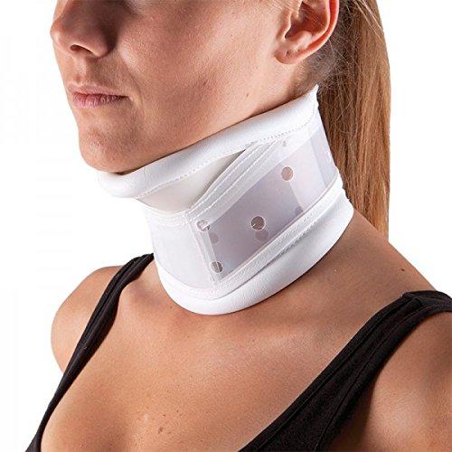 INTERMED - Collare Cervicale Rigido Regolabile In Altezza Con Appoggio Per Mento - Large