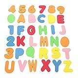 36pcs del baño del bebé Letras y números de Seguridad educativos de...