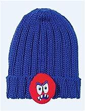Schachenmayr Novedad. 80g Little Sweeties–Special Edition–Color 052Blue Monster–1knäuel una Infantil Gorro con lustigem Animales de aufnähern