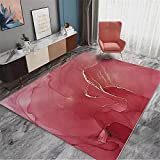 Fácil De Cuidar Arte minimalista moderno tinta abstracta sala de...