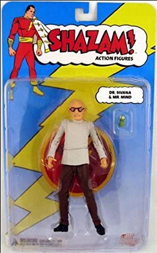 DC Direct Shazam  Action Figure Dr. Sivana with Mr. Mind by Shazam