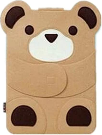 Teddy bear CLOVER Case Sleeve Ultrabook Netbook Bag Carrying Protector Case Cover For Laptop Notebook Computer Macbook