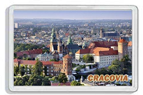 AWS Imán de PVC rígido Cracovia Krakòw City City Polonia imán nevera...