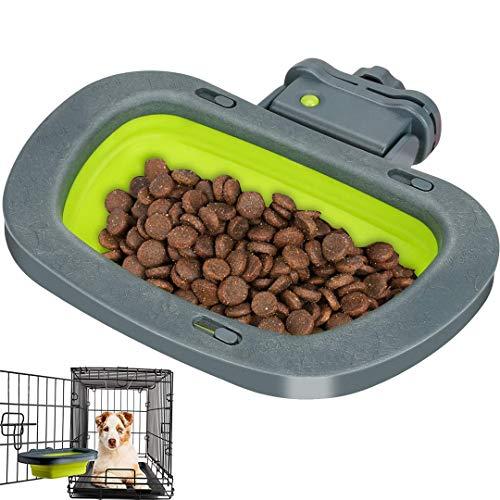 Ciotola per cani da appendere, Ciotola per cani pieghevole FayTun Ciotola per acqua per cani, Materiale per alimenti Ciotola da appendere per animali domestici senza BPA Acqua per alimenti