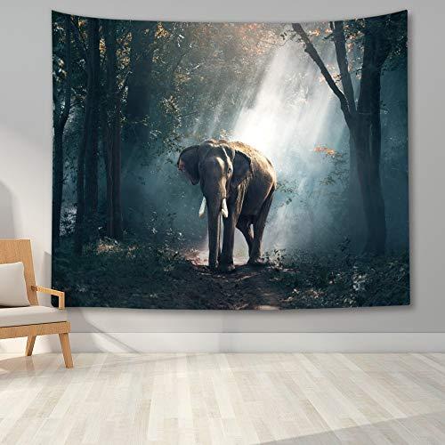 León animal tapiz colgante de pared tigre león tapiz decoración de la pared dormitorio dormitorio decoración de la sala de estar A12 180x200cm