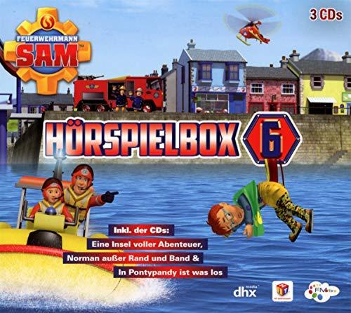 Feuerwehrmann Sam - Hörspiel Box 6 (3 CDs)