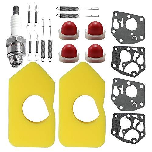 Luftfilter Mit Feder Zündkerzen Membrane Für Briggs & Stratton Vergaser Membrane 795083 495770 27237 Q45 Classic Quattro 40 Motoren