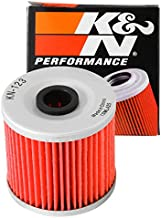 K&N Motorcycle Oil Filter: Designed to be used with synthetic or conventional oils fits 1993-2018 Kawasaki KLR KLR600 KLR650 KLR250 KLF300 Oil Filter KN-123