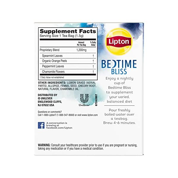 Detox products Lipton Herbal Supplement with Green Tea