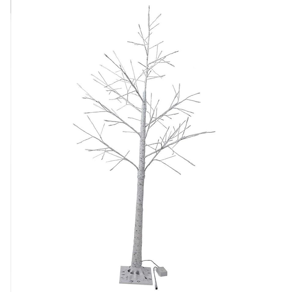 ヒット偽ブラジャー白樺 シラカバ ツリー クリスマスツリー 180cm 北欧 おしゃれ ウェルカムツリー ハロウィン ヌードツリー シラカバツリー 白樺ツリー led ライト cm18a
