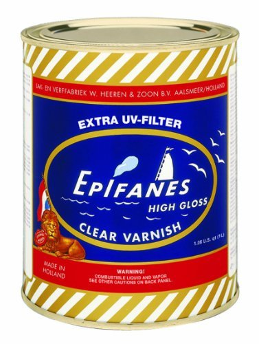 Epifanes Clear Varnish (1000 ml) Size: 1000 ml, Model: CV.1000, Tools & Outdoor Store