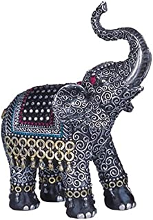 Best George S. Chen Imports SS-G-88051 Black Thai Elephant With Trunk Raised Collectible Figurine Statue Reviews