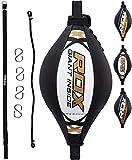 RDX Doppio Fine velocità Palla Tesa Pelle Dodge Speed Bag Veloce Boxe Allenamento Pugilat...