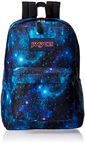 Galaxy print backpack _image1
