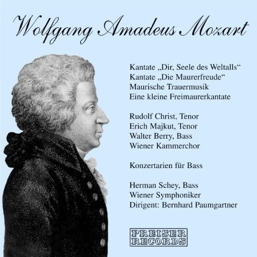 Rudolf Christ, Walter Berry, Erich Majkut, Hermann Schey, Bernhard Paumgartner & Wiener Symphoniker