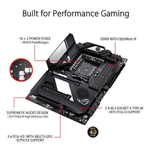 Build My PC, PC Builder, ASUS CROSSHAIR VIII FORMULA