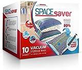 Spacesaver Premium Vacuum Storage Bags. 80% More Storage! Hand-Pump for Travel!...