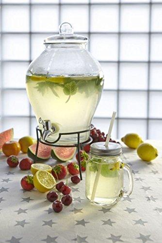 Dispensador de bebidas desconocido con grifo dispensador de zumo + tapa