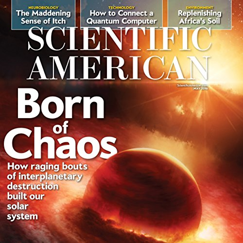 Scientific American, May 2016 audiobook cover art