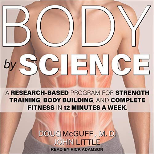Body by Science audiobook cover art