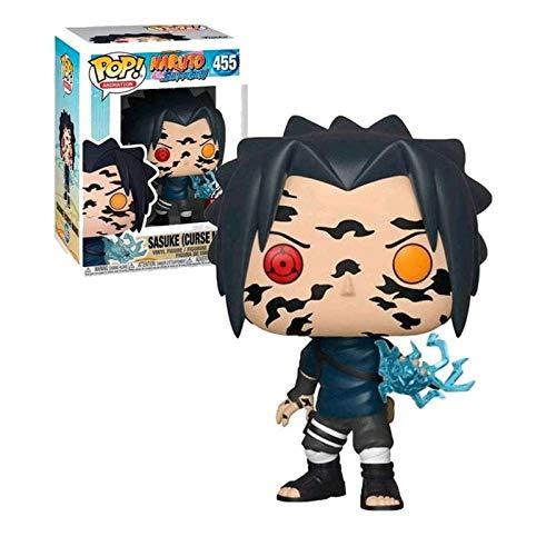 VNNY NARUTOs Sasuke Curse # 455 Kakashi Lightning Blade # 548# 182 Itachi # 578 Figura de acción de Vinilo Muñecas Juguetes-Sello Maldito Sasuke