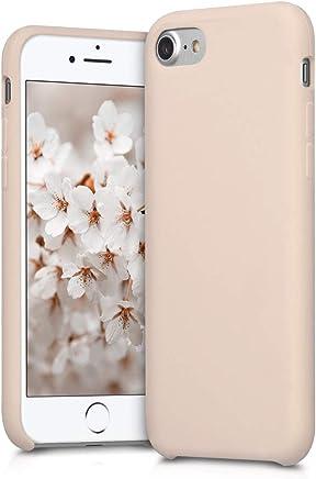 kwmobile Apple iPhone 7 / 8 Cover - Custodia per Apple iPhone 7 / 8 in silicone TPU - Back Case cellulare oro rosa matt