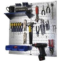 Wall Control Metal Pegboard Organizer Utility Tool Storage