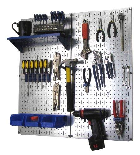 garage wall pegboard - 7