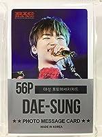D-LITE ディライト - DAESUNG テソン - BIGBANG ビッグバン グッズ / フォト メッセージカード 56枚 (ミニ ポストカード 56枚) セット - Photo Message Card 56pcs (Mini Post Card 56pcs) [TradePlace K-POP 韓国製]