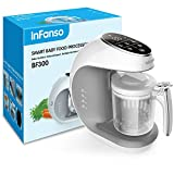 Infanso Baby Food Maker Food Processor BF300 for Infants and Toddlers 7 in 1 Organic Food Making...