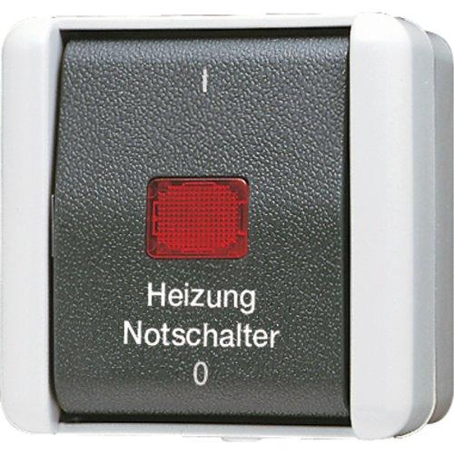 Jung AP-Schalter 802HW 2polig, 250 V